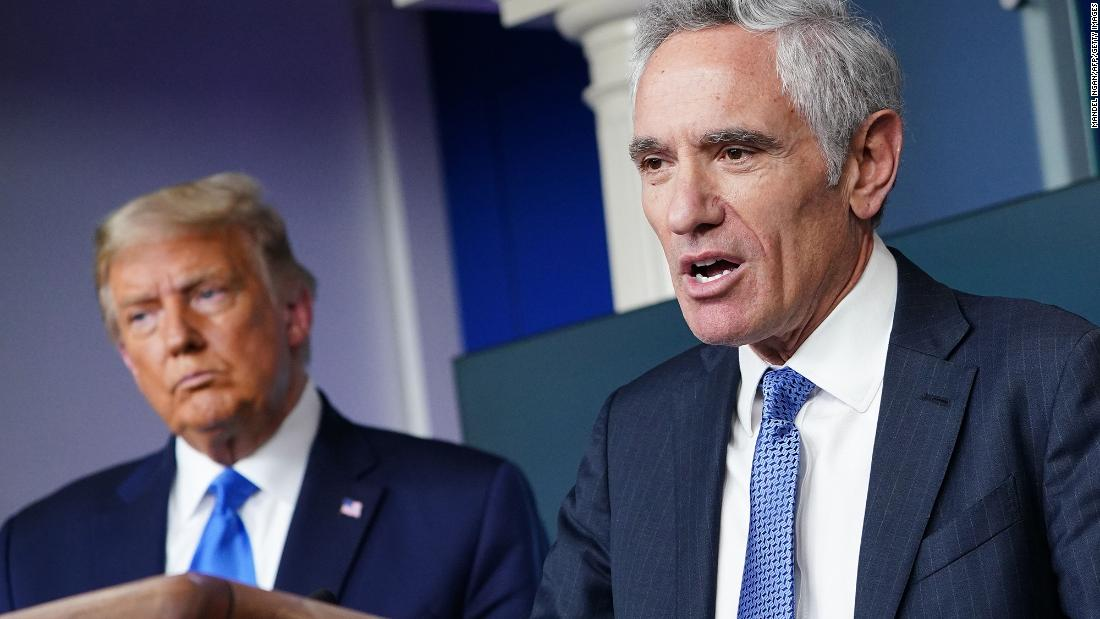 Dr. Scott Atlas White House Coronavirus Task Force adviser apologizes for interview with Russian propaganda network – CNN