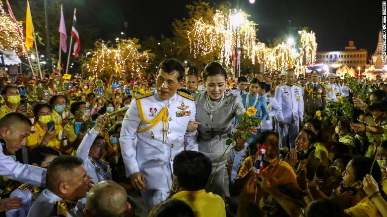 Thai King addresses protesters in rare public comments, saying he 'loves them all the same'