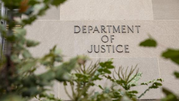 WASHINGTON, DC - DECEMBER 09: The Justice Department building on a foggy morning on December 9, 2019 in Washington, DC. It is expected that the Justice Department Inspector General will release his report on the investigation into the Justice and FBIs conduct during the FISA warrant process as it relates to the 2016 election today.(Photo by Samuel Corum/Getty Images)