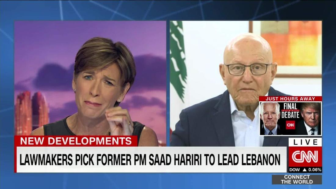 Former Lebanese PM: Lebanon and Israel maritime negotiations a game-changer – CNN Video