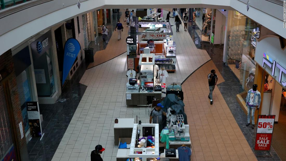 Two major mall owners file for bankruptcy