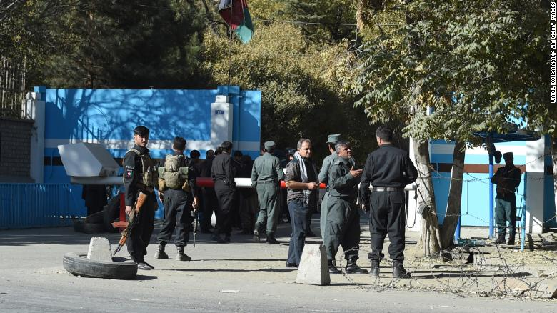 Gunmen kill at least 10 students in attack on Kabul university