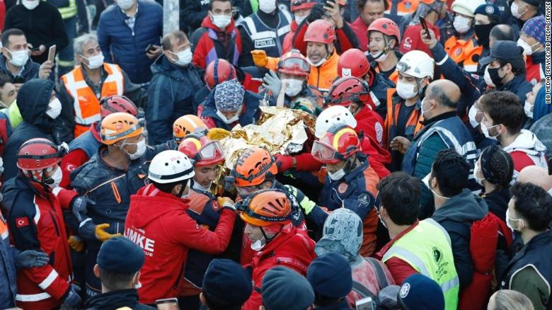 Three-year-old girl rescued alive after 65 hours trapped under rubble in Turkey earthquake