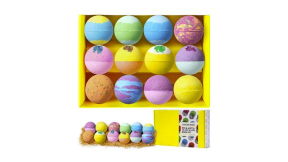 Lagunamoon Bath Bombs Gift Set, 12-Pack