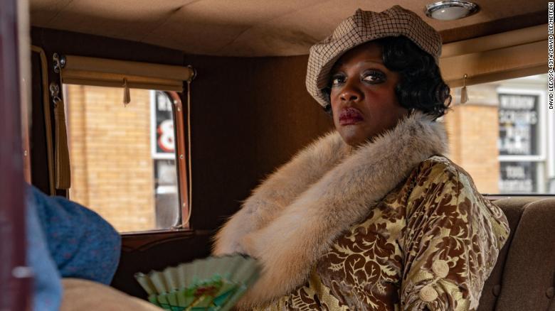 """Viola Davis as Ma Rainey in """"Ma Rainey's Black Bottom."""" Courtesy: Netflix"""