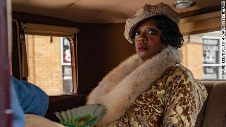 "Viola Davis as Ma Rainey in ""Ma Rainey's Black Bottom."" Courtesy: Netflix"