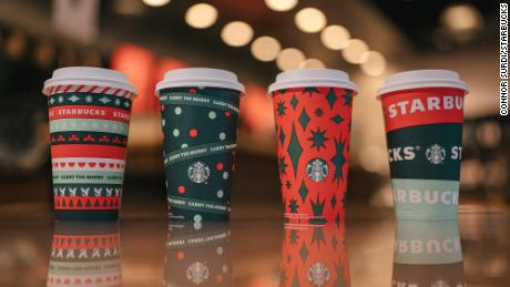 New Starbucks 2020 China Merry Christmas Holiday Party Card