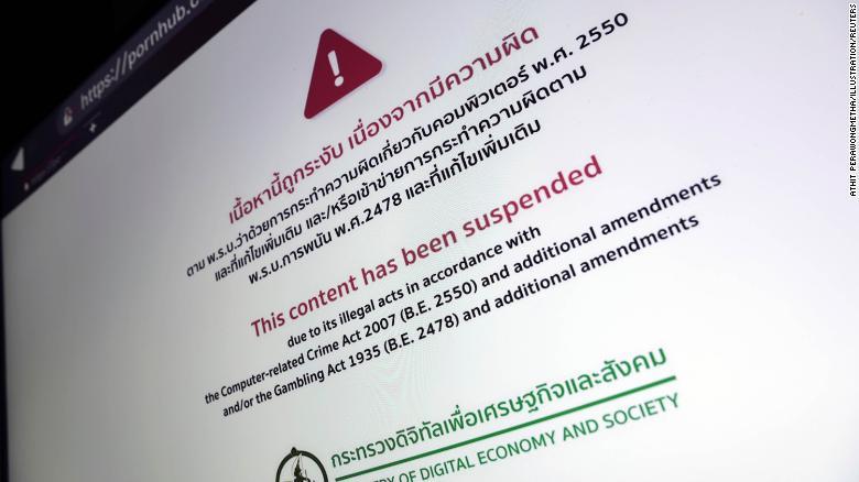 Thailand's online porn ban sparks backlash