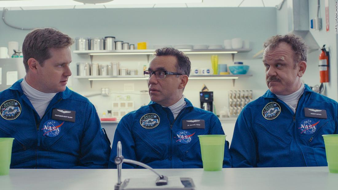 'Moonbase 8' is a pretty weightless Showtime comedy