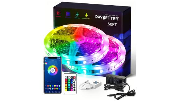 Daybetter Smart RGB LED Strip Lights With Bluetooth