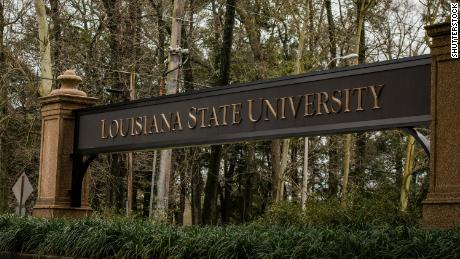 A 21-year-old fraternity member at Louisiana State University was charged with felony hazing after a new member was hospitalized with alcohol poisoning.