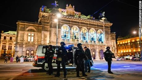 The timing and abhorrent methodology were familiar, with the  shooting coming the night before Austria's lockdown and on the eve of the US presidential elections.