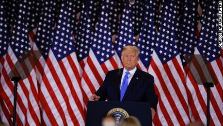 Trump's call to halt vote counts is his most brazen swipe at democracy yet