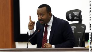 Ethiopia's Nobel laureate leader vows 'military confrontation' with restive region