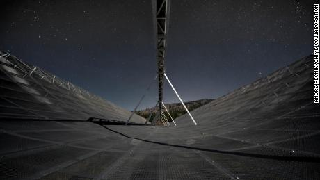 The rapid radio burst may have come from the Milky Way