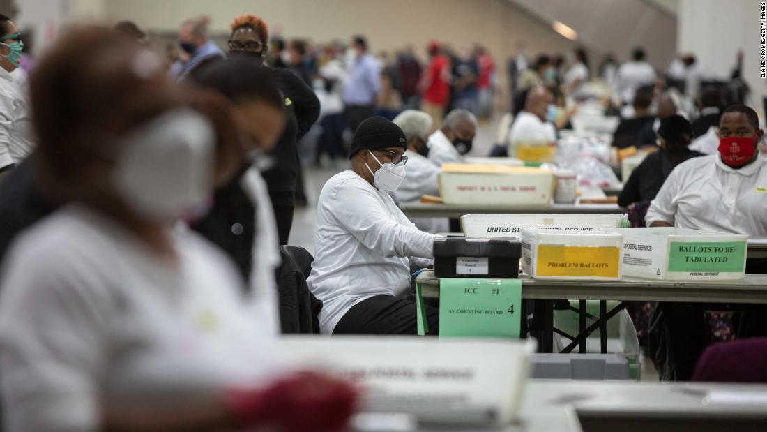 Republican who temporarily blocked certification of Detroit's results shared election conspiracy theories on Facebook
