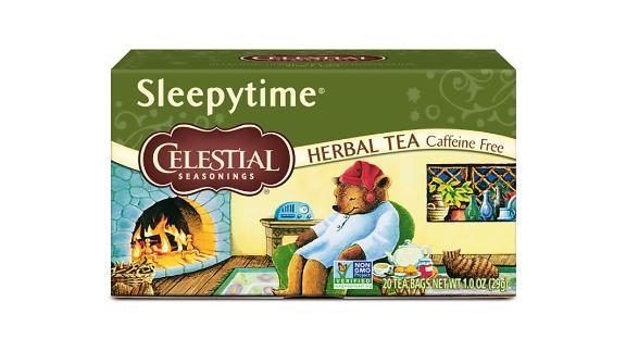 Celestial Seasonings Sleepytime Herbal Tea, 20 Count, Pack of 6