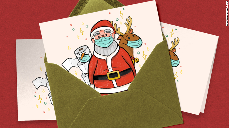 Your 'Seasons Greetings' cards this year won't be all holiday cheer