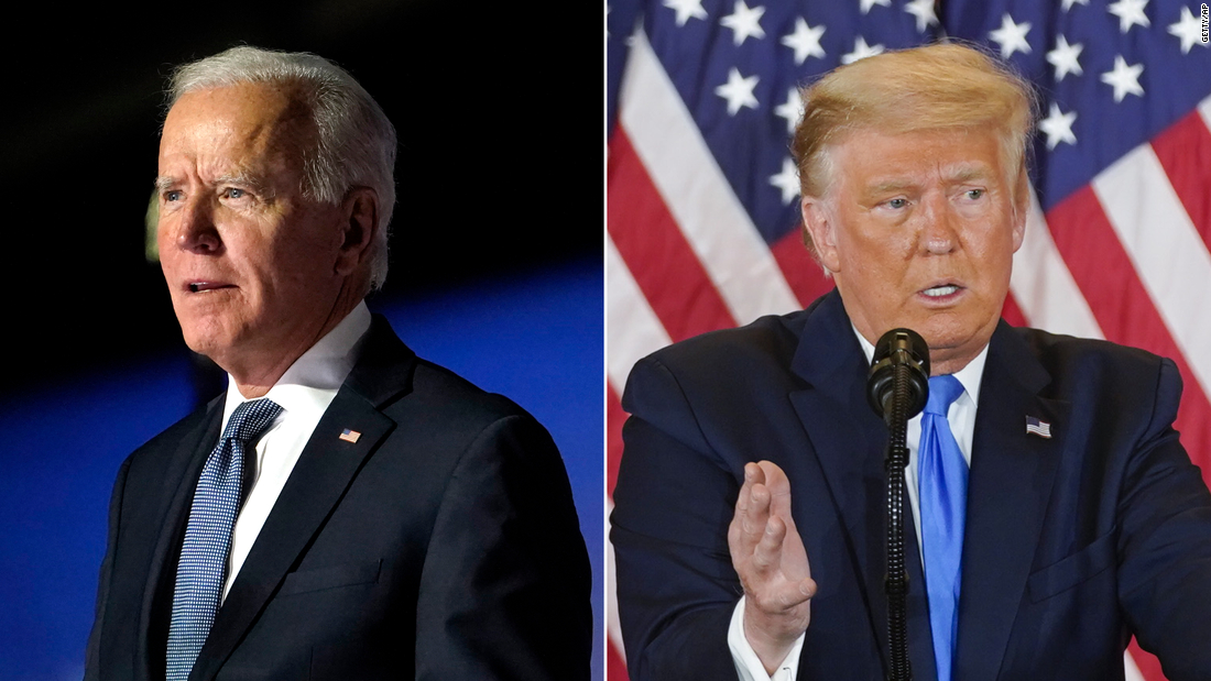 "Live election results 2020: Trump repeats false claims that ""legal"" votes will show him winning – CNN"