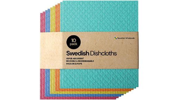 Swedish Dishcloth Cellulose Eco-Friendly Sponge Cloths