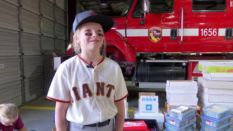 A California man donated 25,000 baseball cards to a 9-year-old girl who lost her collection in a wildfire