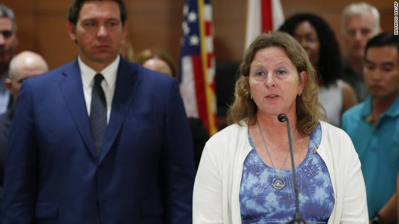 Widow of Florida school shooting victim wins school board seat in Parkland election