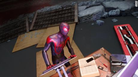 "A screenshot from ""Spider-Man: Miles Morales."""