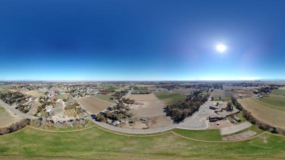 عکس پانوراما 360 درجه با DJI Mavic Mini 2