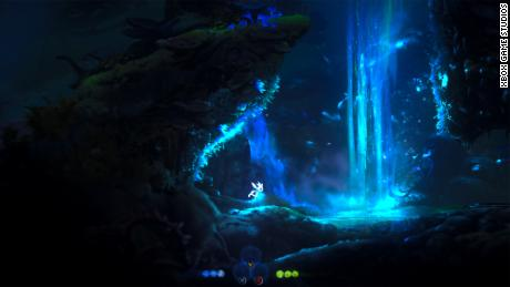 """Ori and the Will of the Wisps"" on Xbox Series X."
