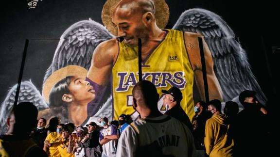 Fans Celebrate In Los Angeles After Lakers Win NBA Finals