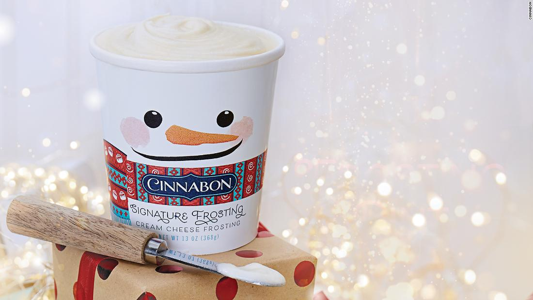 Cinnabon is selling its frosting by the pint