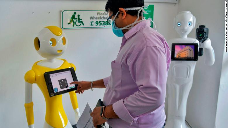 Robots are joining the fight against coronavirus in India