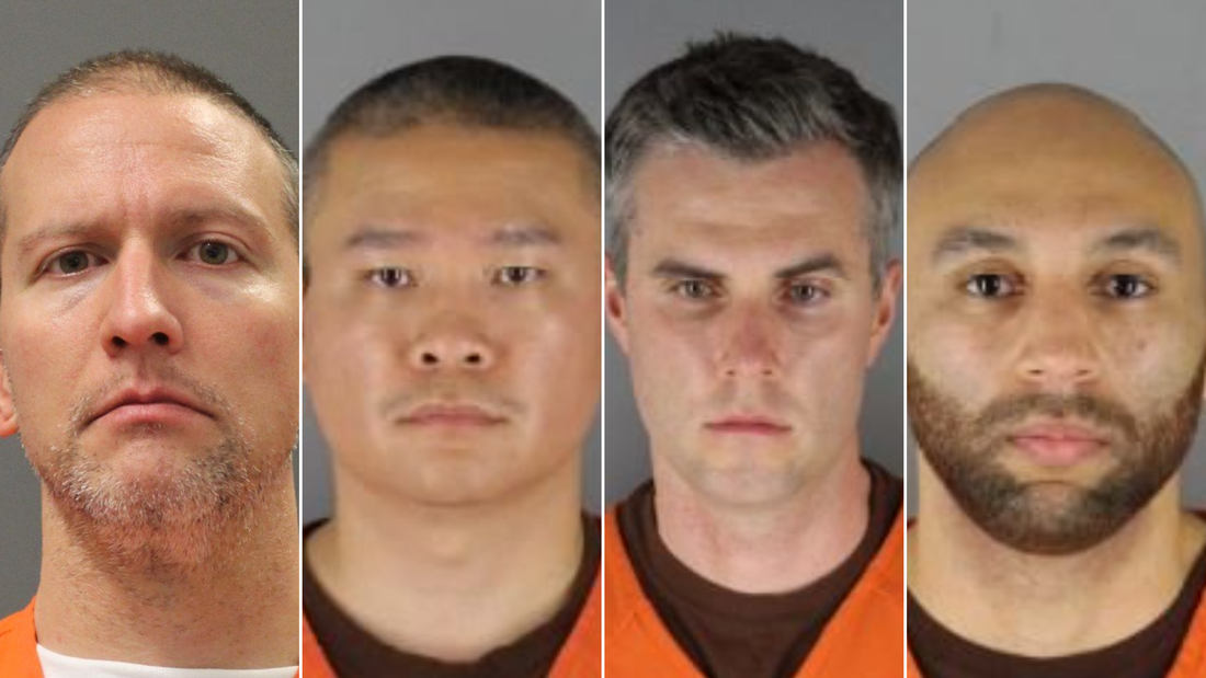 Image for Federal grand jury indicts four former Minneapolis police officers in George Floyd's death