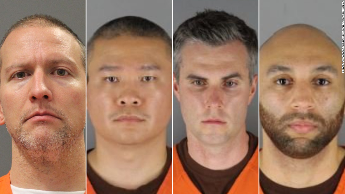 Federal grand jury indicts four former police officers in George Floyd's death