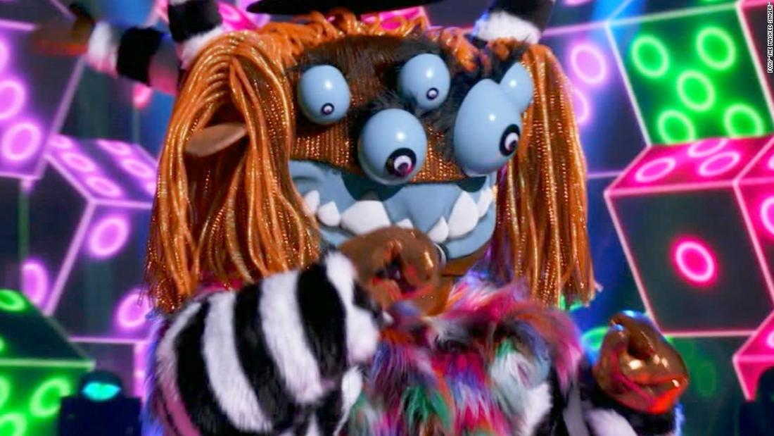 'The Masked Singer' reveals Squiggly Monster's identity