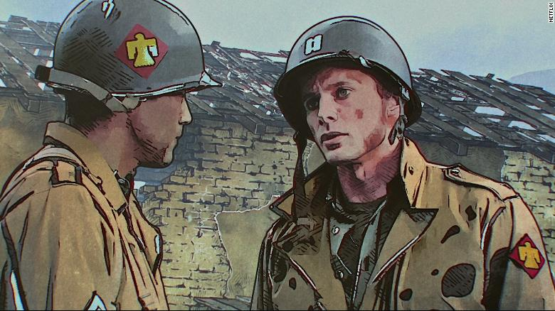 'The Liberator' is an interesting animated experiment, but a flat World War II tale
