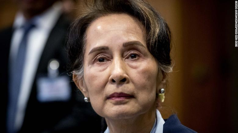 Despite accusations of genocide, Aung San Suu Kyi's party is on track to win another term in Myanmar