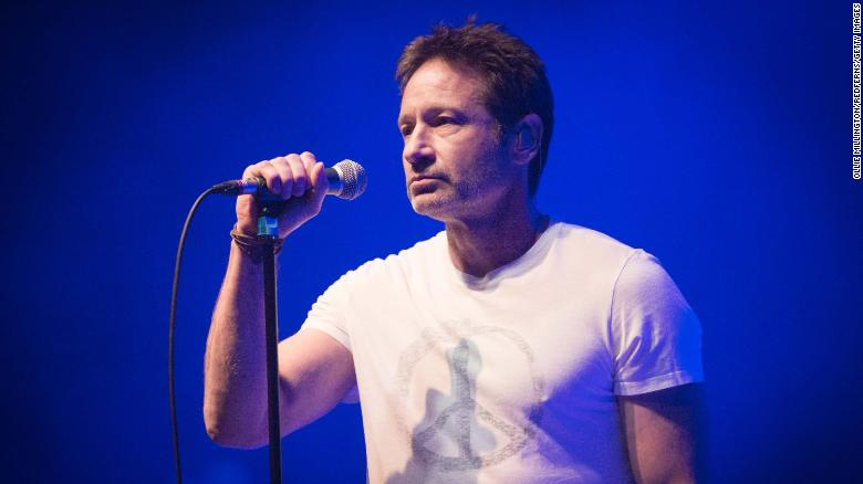 David Duchovny gets political with new song