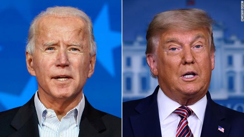 CNN projects Biden wins Georgia, Trump wins North Carolina