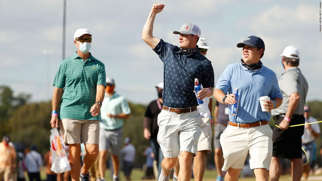 'The energy was definitely a lot different' as golf restores sound of fans