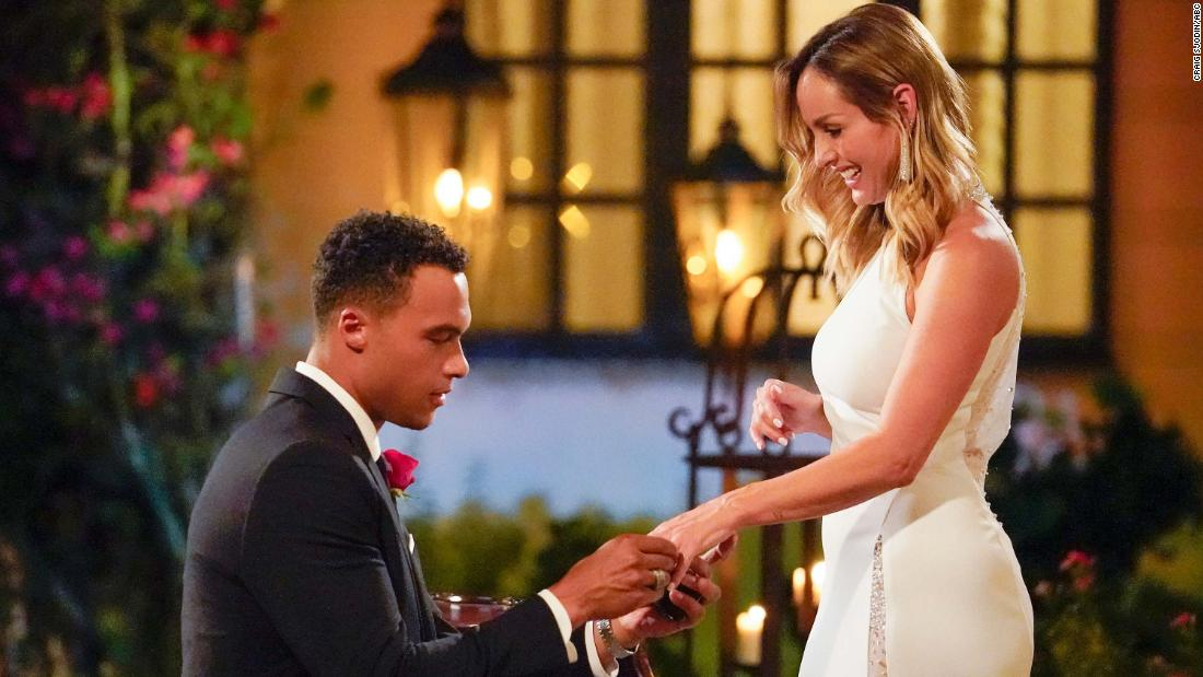 Clare Crawley exits 'Bachelorette' while giving us a love story