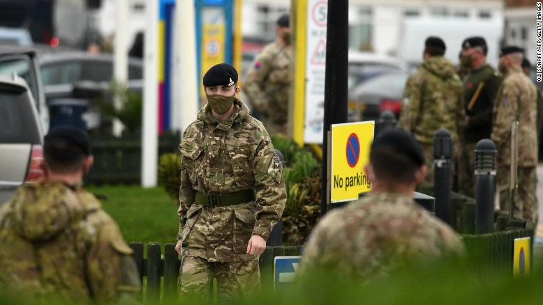 Military forces drafted in as Europe risks being overwhelmed by Covid cases