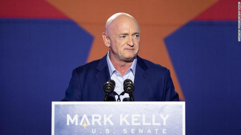 Democrat Mark Kelly defeats Republican Martha McSally in Arizona Senate race