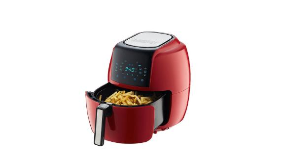 GoWise USA 8-in-1 Chili Red Air Fryer