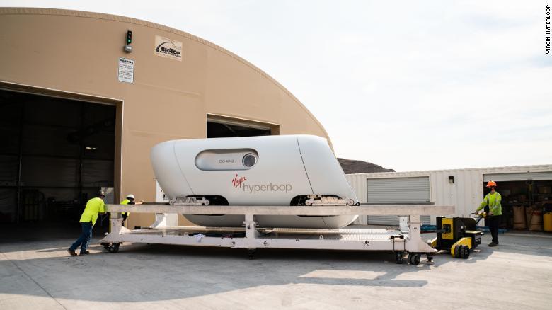 Virgin Hyperloop adalah salah satu perusahaan yang mencoba mengembangkan teknologi hyperloop, yang menurut mereka akan meningkatkan kualitas kereta yang ada.