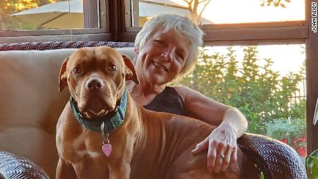 Joan Reidy adopted a 2-year-old dog from her local shelter and named her Babygirl.