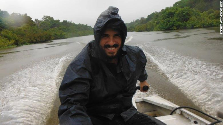 João Campos Silva on the rivers of Amazonas State, Brazil.