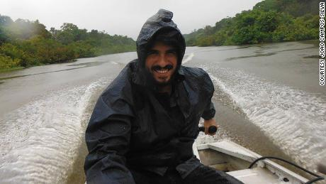 Joao Campos-Silva is on a mission to save a river giant