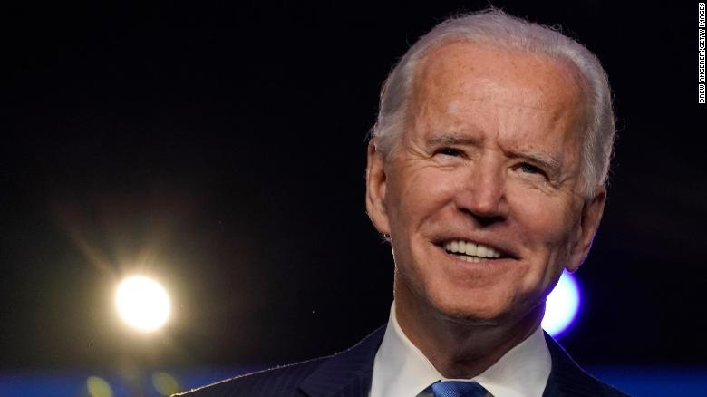 Joe Biden to become the 46th president of the United States, CNN projects