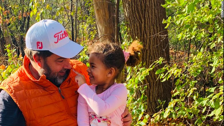 A White dad talks to his Black daughter about Vice President-elect Kamala Harris